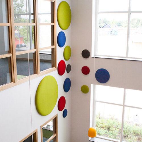 Creative acoustic wall panels