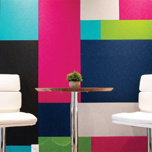 Echo reducing wall panels
