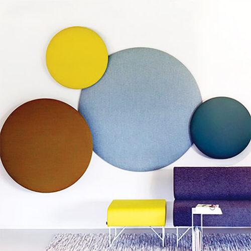 Fabric wall panels